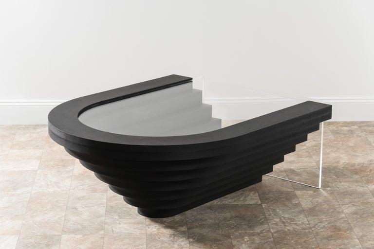 Modern Brutiful Geometric Coffee Table by Birnam Wood Studio For Sale