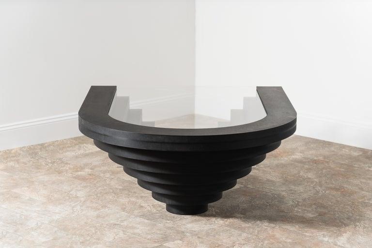 American Brutiful Geometric Coffee Table by Birnam Wood Studio For Sale