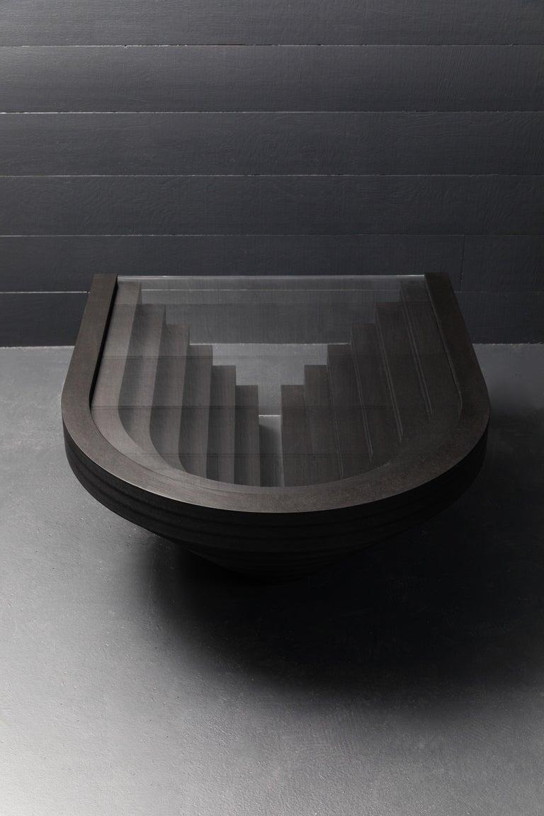 Other Brutiful Geometric Coffee Table by Birnam Wood Studio For Sale
