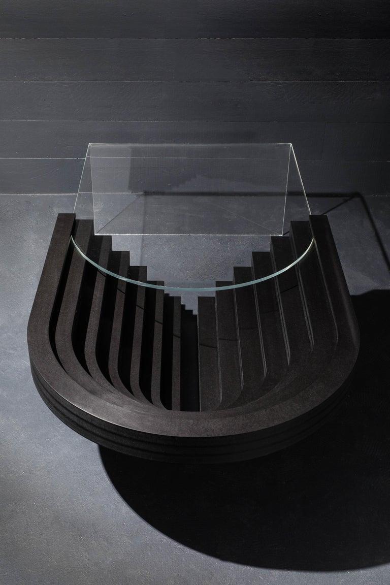 Brutiful Geometric Coffee Table by Birnam Wood Studio For Sale 1