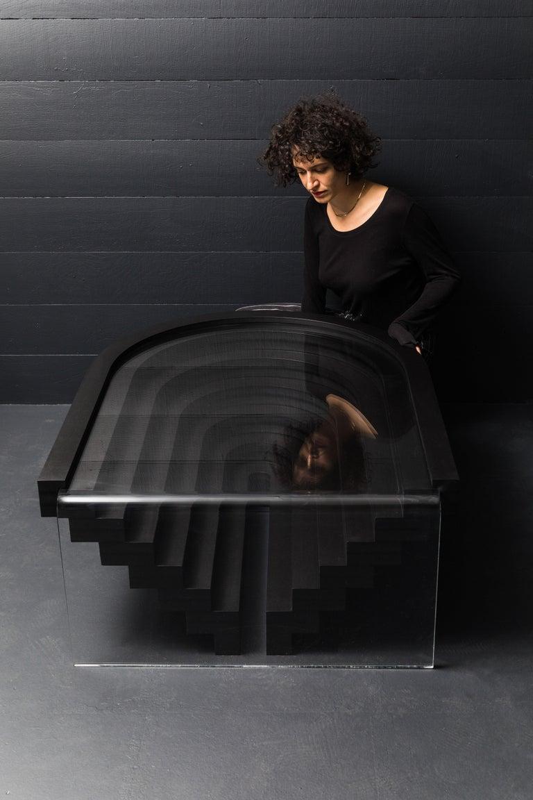 Brutiful U&I Coffee Table, Geometric Coffee Table by Birnam Wood Studio For Sale 5