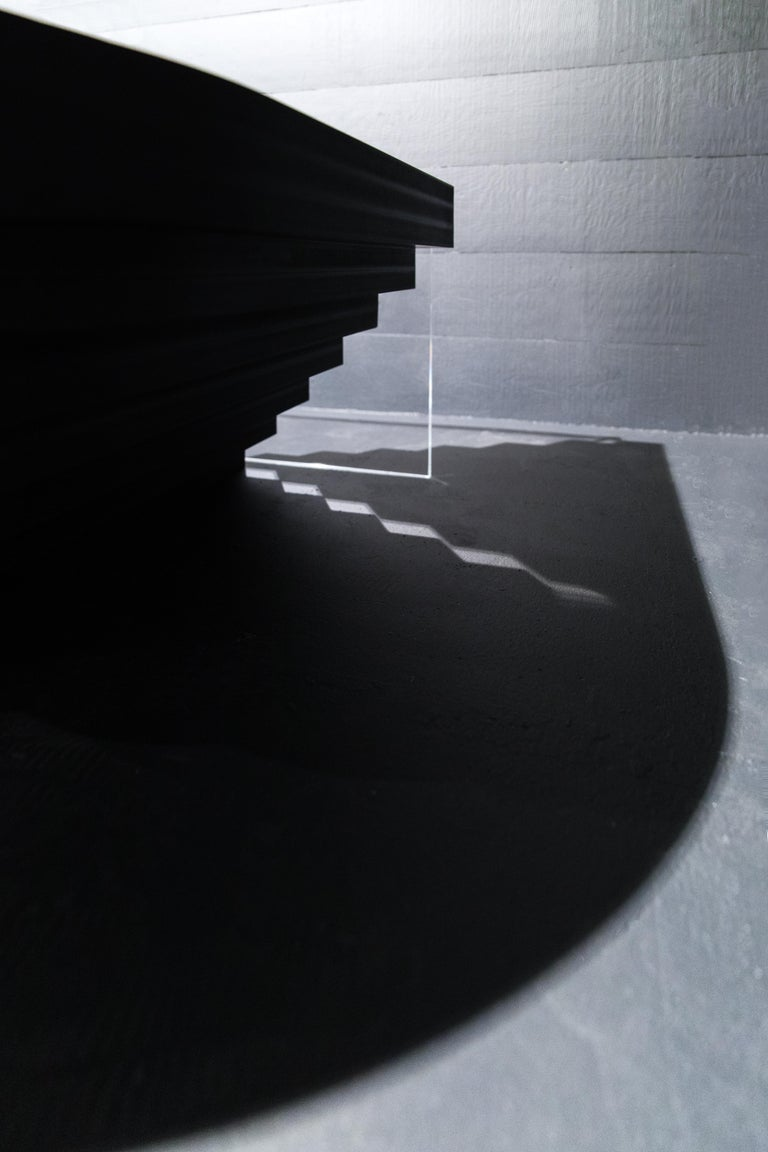 Brutiful U&I Coffee Table, Geometric Coffee Table by Birnam Wood Studio For Sale 8