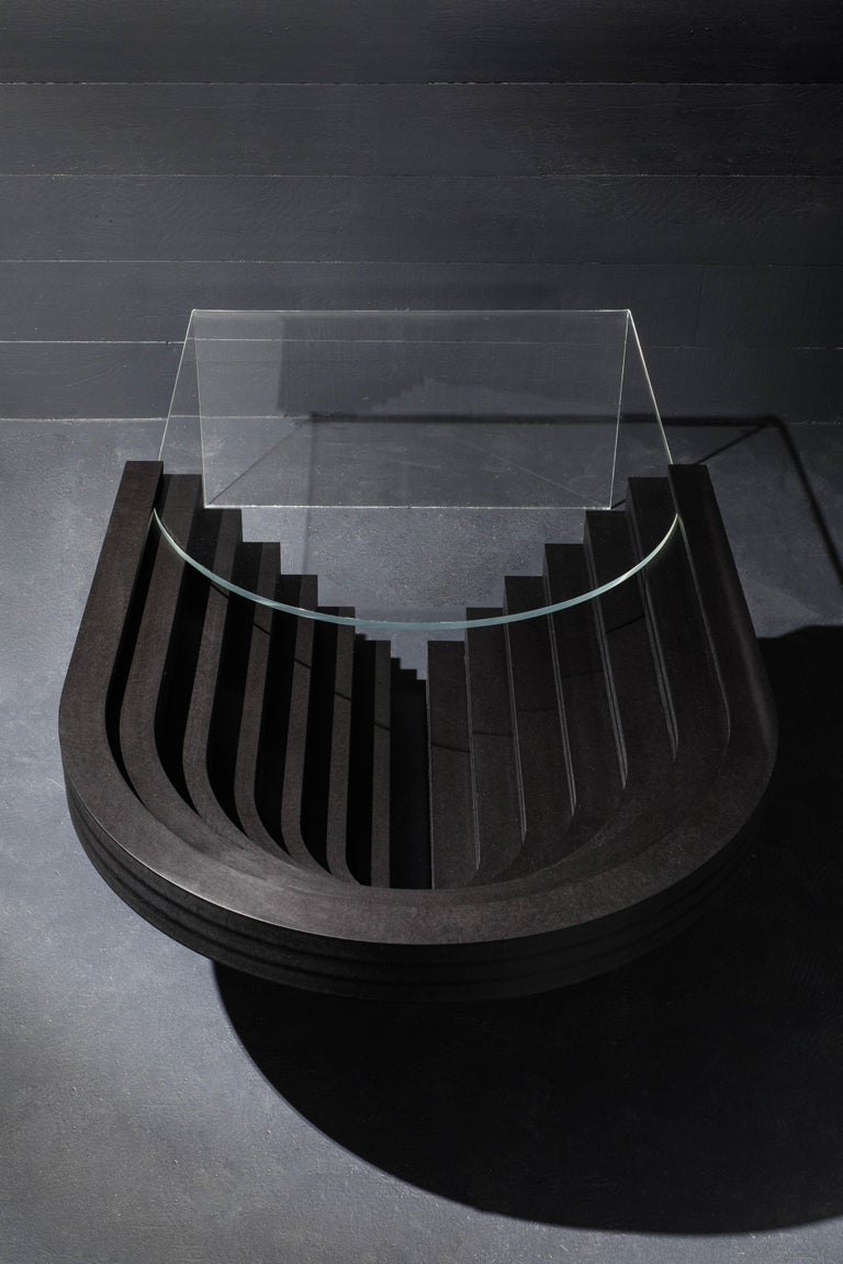 American Brutiful U&I Coffee Table, Geometric Coffee Table by Birnam Wood Studio For Sale
