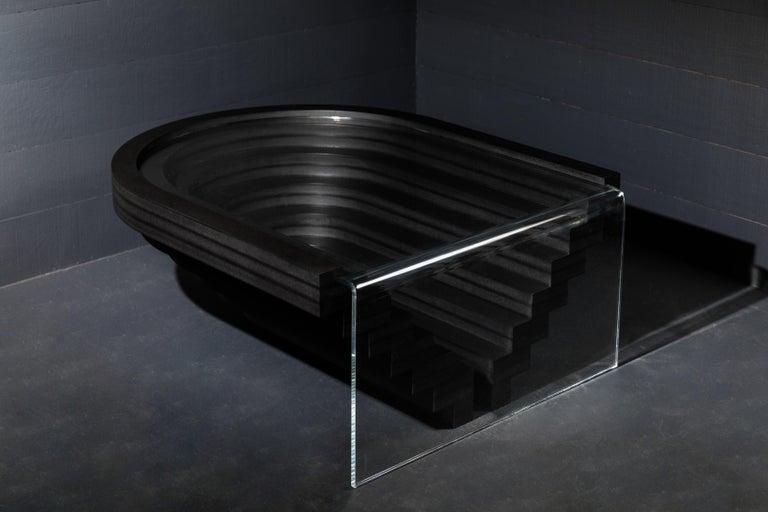Brutiful U&I Coffee Table, Geometric Coffee Table by Birnam Wood Studio For Sale 2