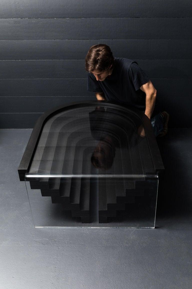Brutiful U&I Coffee Table, Geometric Coffee Table by Birnam Wood Studio For Sale 3