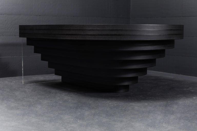 Brutiful U&I Coffee Table, Geometric Coffee Table by Birnam Wood Studio For Sale 4