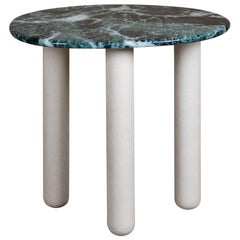 'Bruton' Contemporary Marble Side Table