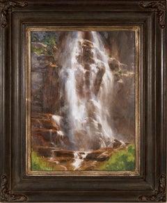 """Bridal Veil Falls"" by Bryan mark Taylor"