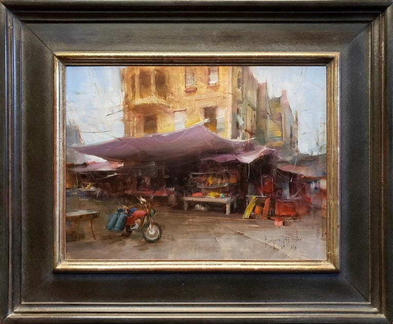 Market Day - Painting by Bryan Mark Taylor