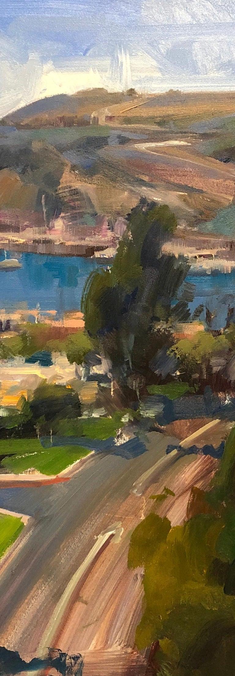 Modern Impressionist California Seascape