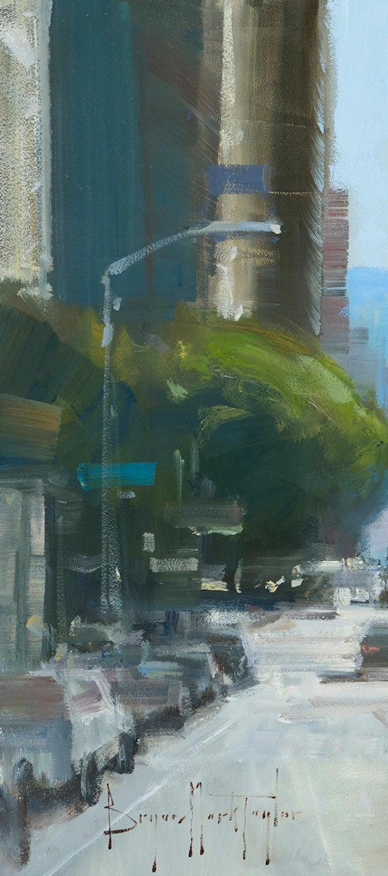 Modern Impressionist Cityscape