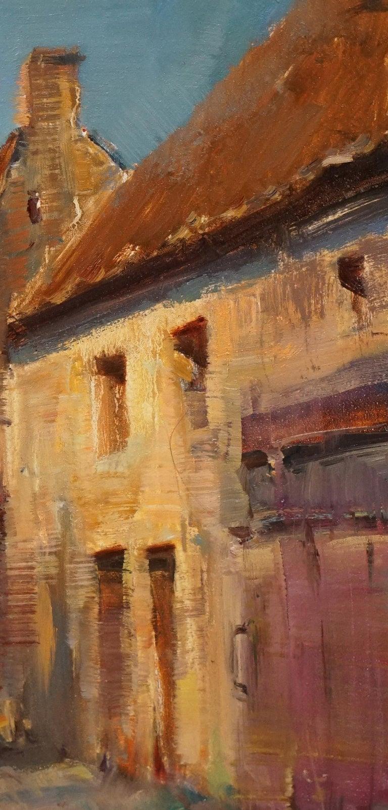 Modern Impressionist French Plein air Landscape oil