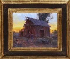"""""""Sunset Barn"""" By Bryan Mark Taylor"""
