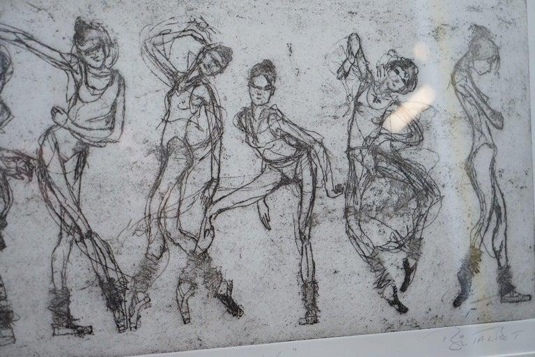 British Bryan Talbot Print 15/40 Ballet Ballerina