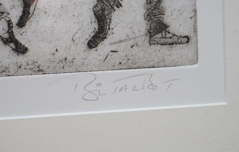 20th Century Bryan Talbot Print 15/40 Ballet Ballerina