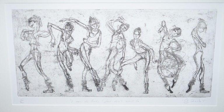 Paper Bryan Talbot Print 15/40 Ballet Ballerina