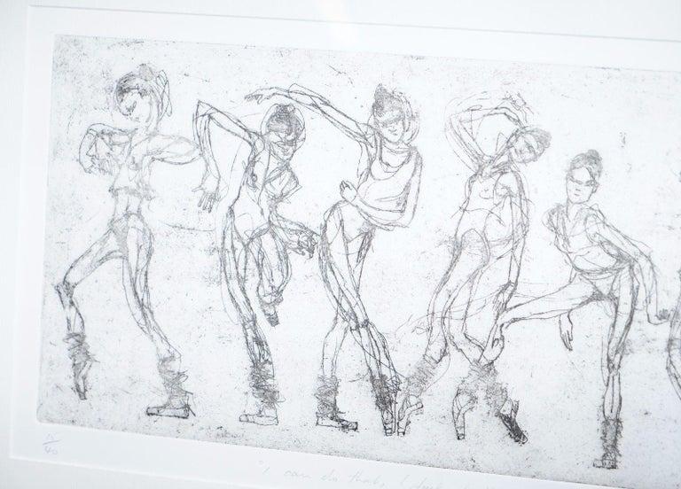 Bryan Talbot Print 15/40 Ballet Ballerina
