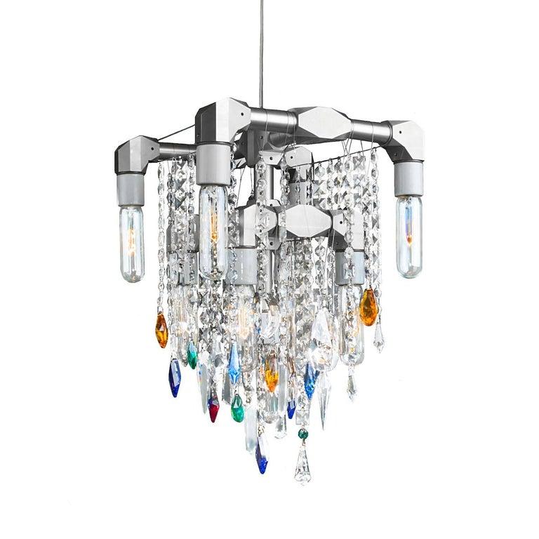 Bryce Collection Nine-Bulb Compact Pendant