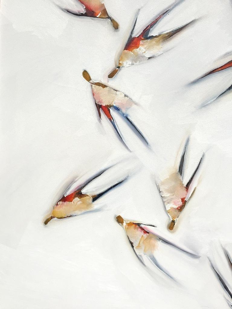 Abstract Oil Painting  Education  1994–96 MFA, University of British Columbia, Vancouver, Canada 1991–94 BFA, Rockford College, Illinois, USA  Solo Exhibitions 2017/18 Landscape / Still Moving, Rockford Art Museum Annex, Rockford, Illinois,