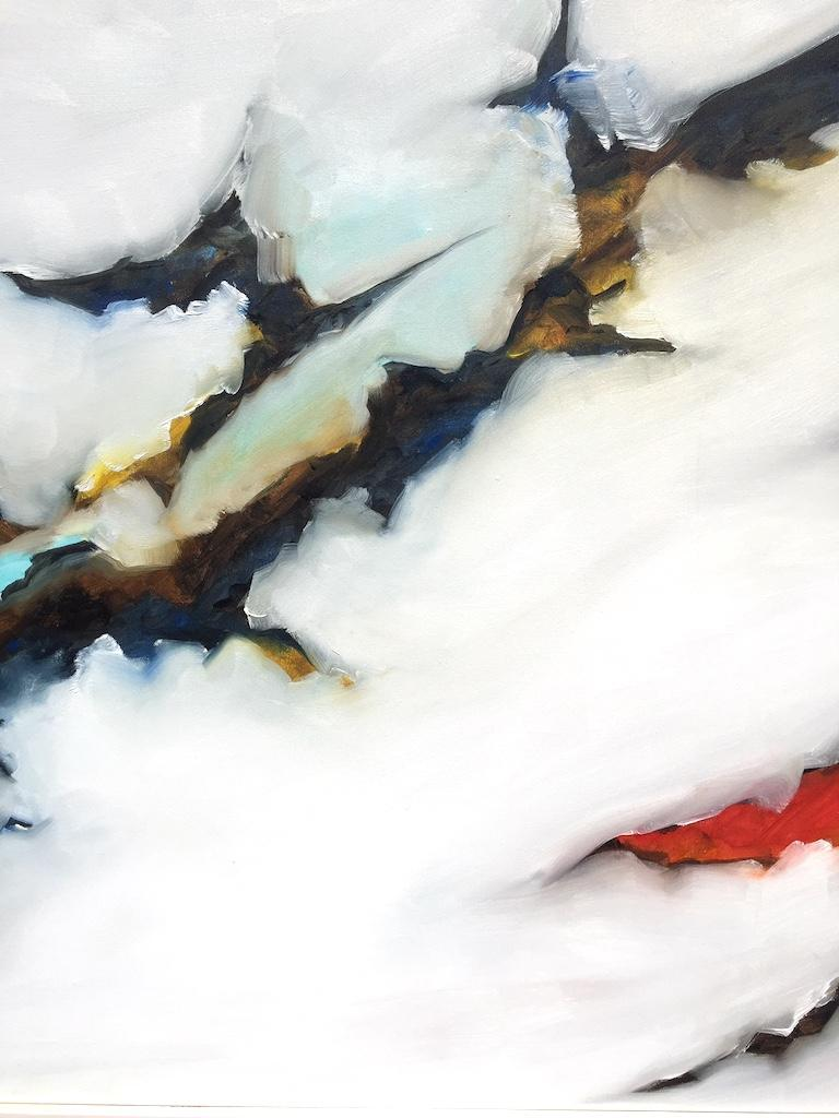 Abstract oil painting  Education  1994–1996 MFA, University of British Columbia, Vancouver, Canada 1991–1994 BFA, Rockford College, Illinois, USA  Solo Exhibitions 2017-20118 Landscape / Still Moving, Rockford Art Museum Annex, Rockford,