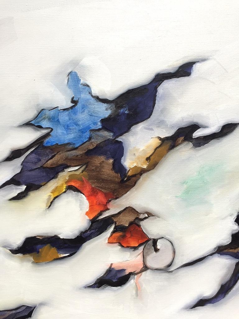 Hand-Painted Brynhildur Gudmundsdóttir Untitled, 2017 For Sale