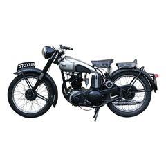 BSA C11 Motorcycle, Classic 250 Cc. Single Cylinder Overhead Valve, Rigid Frame