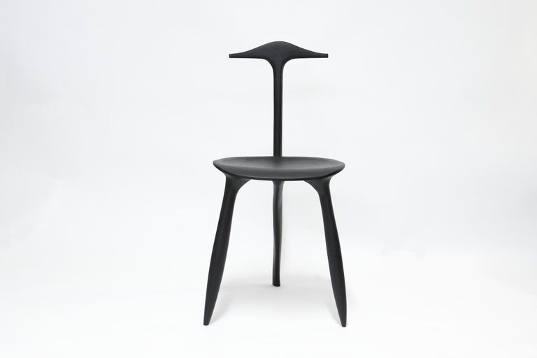 BTRFL Console Desk and Chair, Hand-Sculpted by Cedric Breisacher For Sale 5