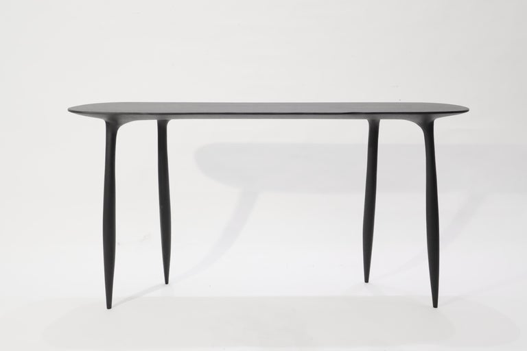BTRFL Console Desk and Chair, Hand-Sculpted by Cedric Breisacher For Sale 6