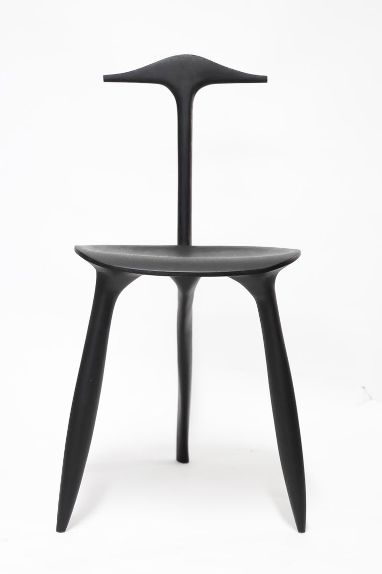 BTRFL Console Desk and Chair, Hand-Sculpted by Cedric Breisacher In New Condition For Sale In Geneve, CH