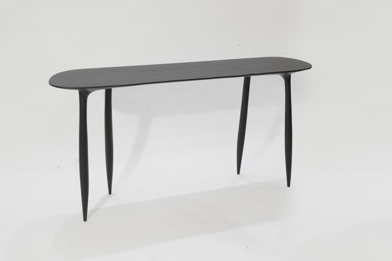 BTRFL Console Desk and Chair, Hand-Sculpted by Cedric Breisacher For Sale 2