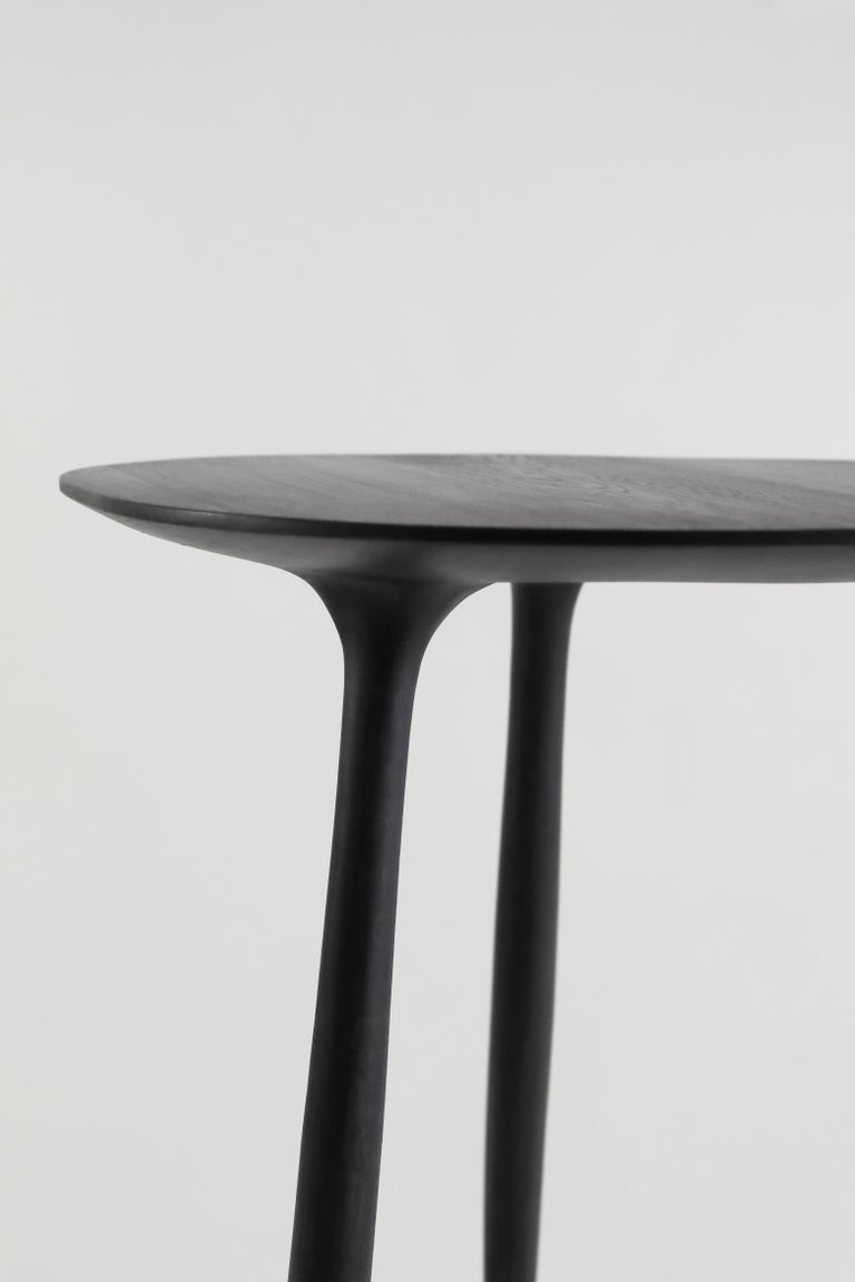 BTRFL Dining Table, Hand-Sculpted and Signed by Cedric Breisacher In New Condition For Sale In Geneve, CH