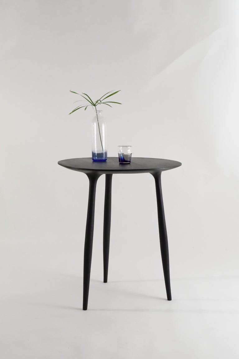 Contemporary BTRFL Dining Table, Hand-Sculpted and Signed by Cedric Breisacher For Sale