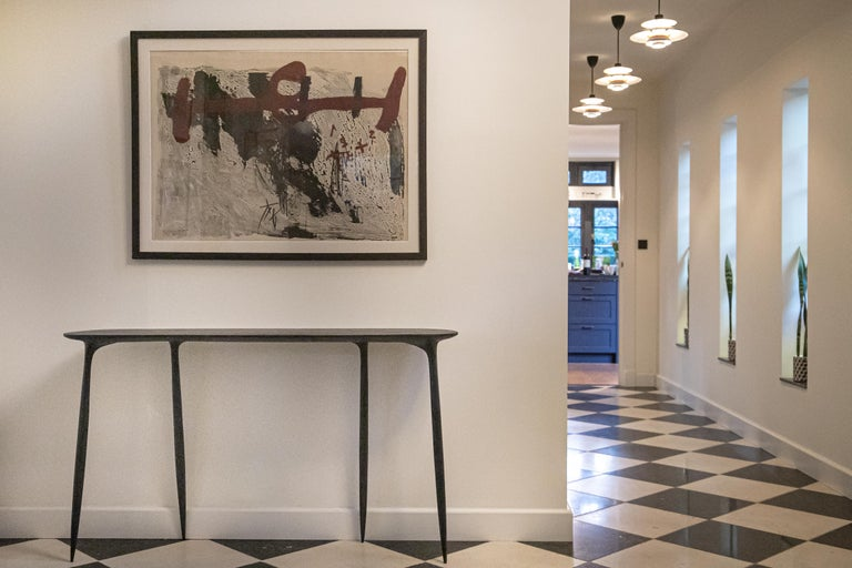 BTRFL Oak Console by Cedric Breisacher In New Condition For Sale In Geneve, CH