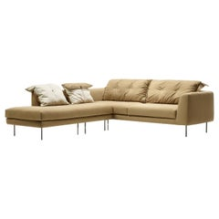 Bubble 3-Seat Sofa with Chaise Lounge