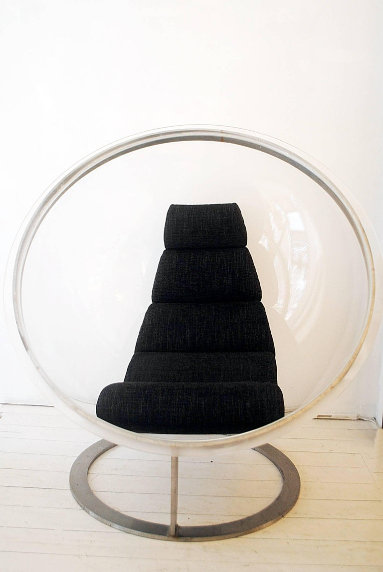 Mid-Century Modern Bubble Chair by Christian Daninos, Laroche Edition, France, 1968 For Sale