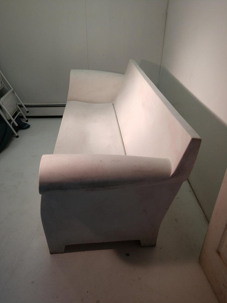 Molded Bubble Club Sofa by Philippe Starck Italy Kartell For Sale
