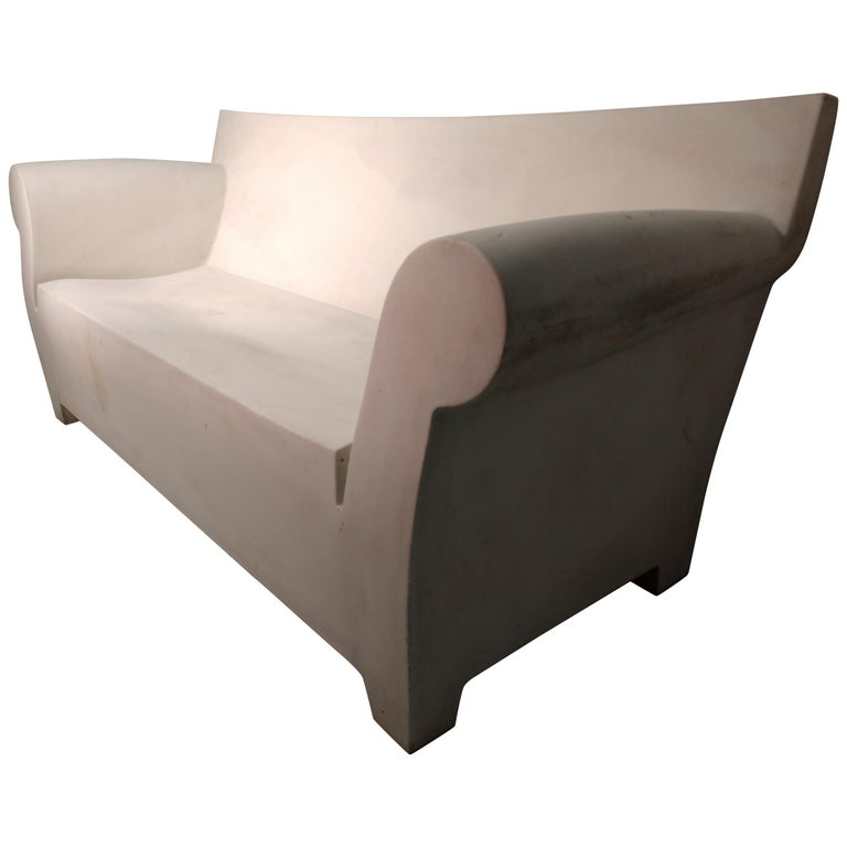 Bubble Club Sofa by Philippe Starck Italy Kartell For Sale