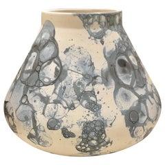 Bubble Design Ceramic Vase, Netherlands, Contemporary