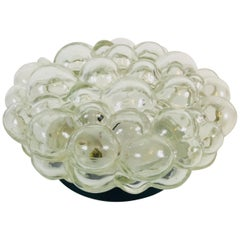 Bubble Glass Flush Mount or Wall Lamp by Helena Tynell for Limburg, 1960s