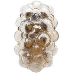 Bubble Glass Sconces by Helena Tynell for Glashütte Limburg, Germany