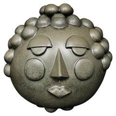 Bubble Head Face Jug by Keavy Murphree