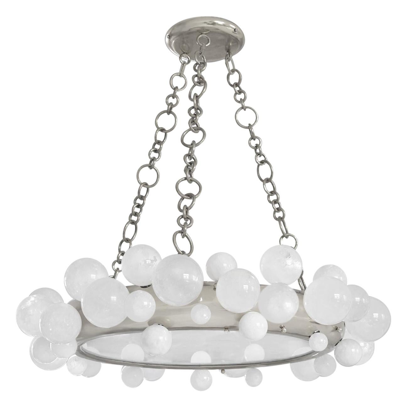 Bubble Rock Crystal Chandelier by Phoenix