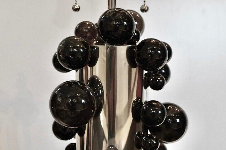 Bubble Rock Crystal Lamps by Phoenix For Sale 1