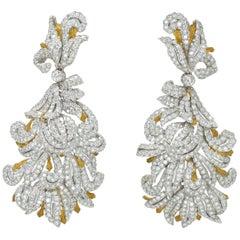 Buccallati Diamond Day or Night Earrings
