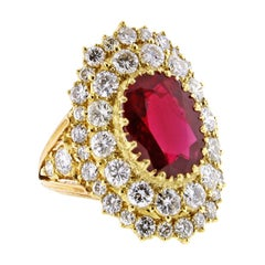 Buccellati, AGL Certified Ruby and Diamond Ring