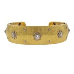 Buccellati Classic Diamond Gold Bracelet