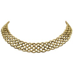 Buccellati 'Crepe de Chine' Gold Necklace
