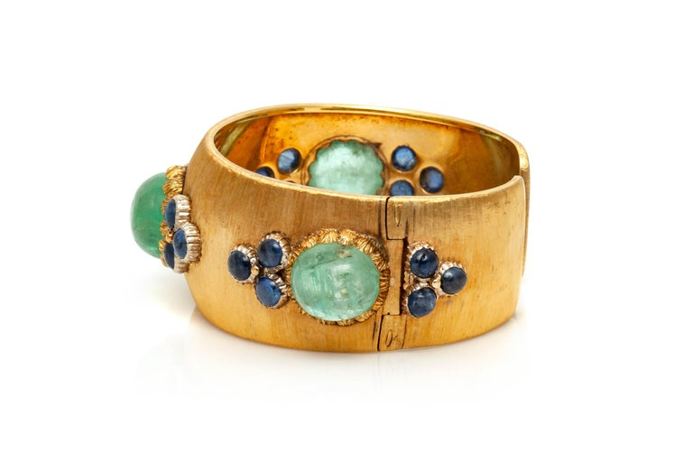 Buccellati Cuff Bracelet In Good Condition For Sale In New York, NY