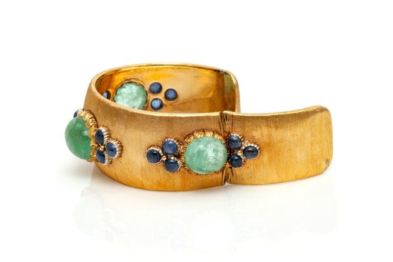 Buccellati Cuff Bracelet For Sale 1