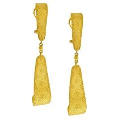 Buccellati Day and Night Drop Earrings